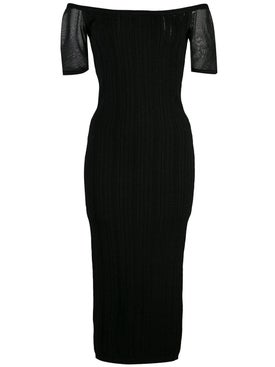 Cushnie - Ribbed Knit Dress - Clothing