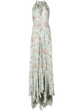 Johanna Ortiz - Long Floral Dress - Women