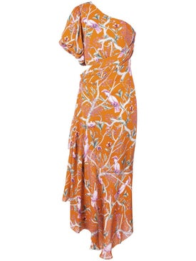 Johanna Ortiz - Tropical Print Maxi Dress - Women