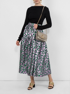 Oscar Midi Skirt MULTICOLOR