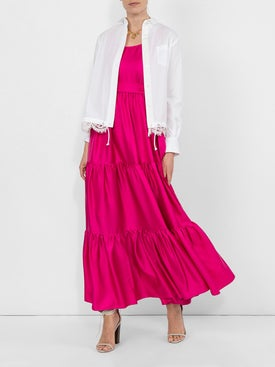 La Double J - Dinner At The Pelicano Silk Maxi Dress - Women