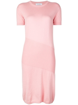 China cashmere knit dress PINK