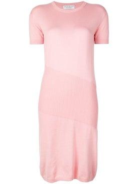 Alexandra Golovanoff - China Cashmere Knit Dress Pink - Women