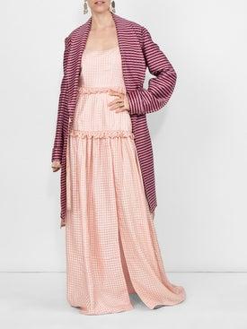 Marni - Oversized Striped Coat - Women
