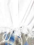 Sacai - Lace Trim Drawstring Shirt - Women