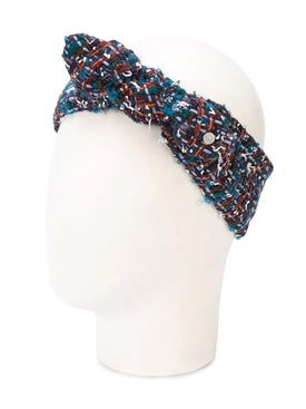 Maison Michel - Tweed Headband - Women