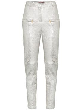 Sies Marjan - Brin Slim Fit Leather Trousers - Women