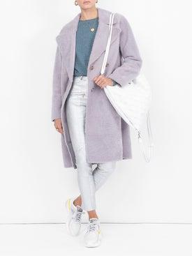 Sies Marjan - Brin Slim Fit Leather Trousers - Women