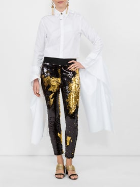 Fausto Puglisi - Sequinned Leggings - Women