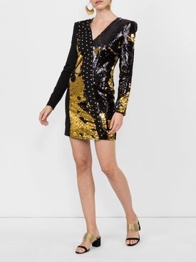 Fausto Puglisi - Sequinned Mini Dress - Women