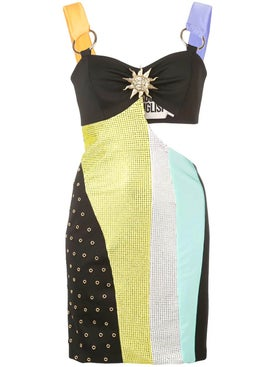 Fausto Puglisi - Color Block Mini Dress - Women