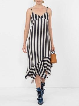Marques'almeida - Striped Asymmetric Dress - Women