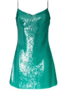 Natasha Zinko - Sequinned Mini Dress - Women