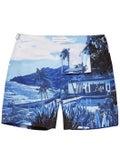 Orlebar Brown - Bulldog Blue View Mid-length Swim Shorts - Men