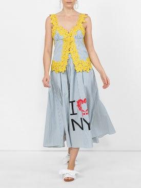 Rosie Assoulin - Striped Flared Midi Skirt - Women