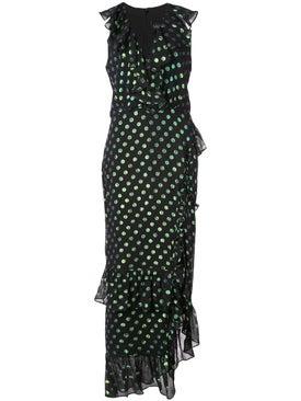 Saloni - Polka Dot Anita Dress - Women