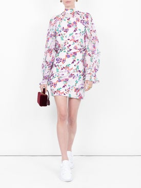 Saloni - Paradise Print Rina Dress - Women