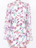Saloni - Paradise Print Rina Dress - Women