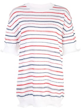 Sonia Rykiel - Striped Knit T-shirt - Women