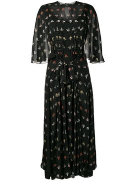 Sonia Rykiel - Mimosa Print Georgette Dress - Women