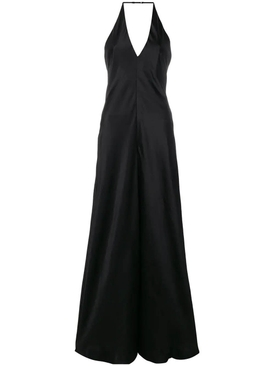 backless jumpsuit BLACK