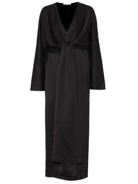 The Row - Clementine Dress Black - Women