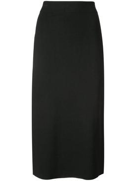Midi pencil skirt BLACK