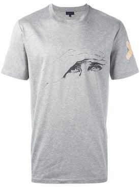 Lanvin - Lanvin X Cedric Rivrain 'glare' T-shirt Grey - Men
