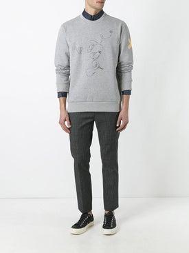 Lanvin - Lanvin X Cedric Rivrain Headphones Sweatshirt Grey - Men