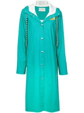 PSWL teal raincoat