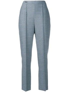 Fendi - Cropped High-waisted Trousers - Women