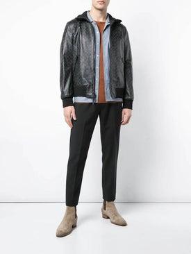Coach - Signature Leather Track Jacket - Men