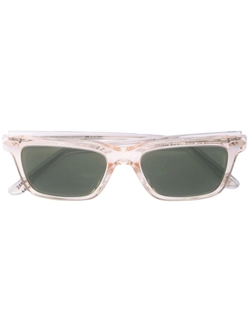 clear square frame sunglasses