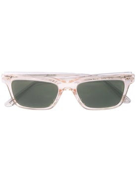 Oliver Peoples - Clear Square Frame Sunglasses - Women
