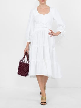 Proenza Schouler - Poplin Midi Dress - Women