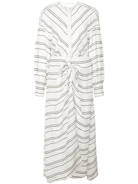 Proenza Schouler - Crepe Long Sleeve Dress - Women
