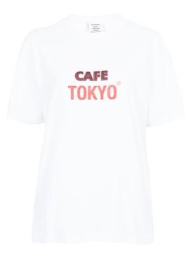 Cafe Tokyo Reykjavik T-Shirt WHITE