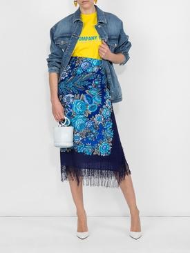 foulard scarf skirt