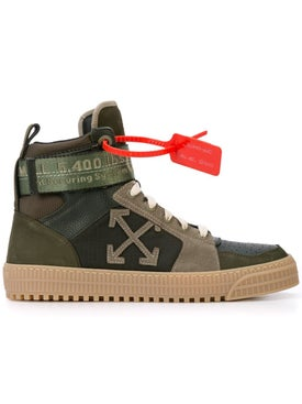 Off-white - Industrial High-top Sneakers - Men