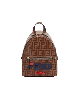 Fendi - Ff Fendimania Mini Backpack Brown - Women