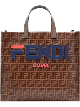 Fendi - Fendimania Logo Print Tote Bag - Women
