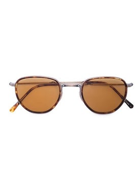 Mr. Leight - Tortoiseshell Round Sunglasses - Women