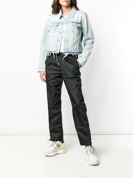 Off-white - Denim Frayed Jacket - Short