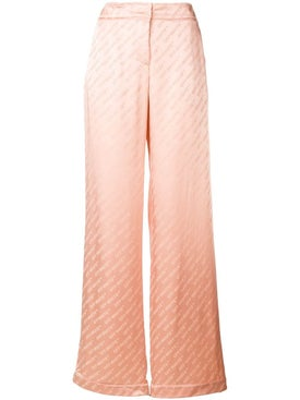 Off-white - Monogram Trousers - Women