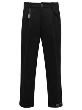 7 Moncler FRGMT Hiroshi Fujwara Trousers Black