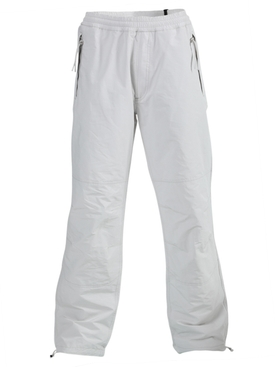 Moncler - White Relaxed-fit Elasticated Pants - Men