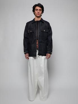 2 Moncler 1952 White Gabardine Pants