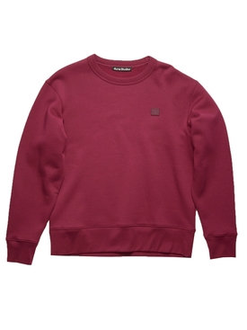 Face Sweatshirt, Dark Pink