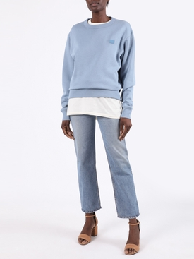 Light Blue Logo Sweatshirt