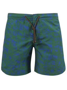 X CHARVET BRUSH STROKES SWIM SHORTS
